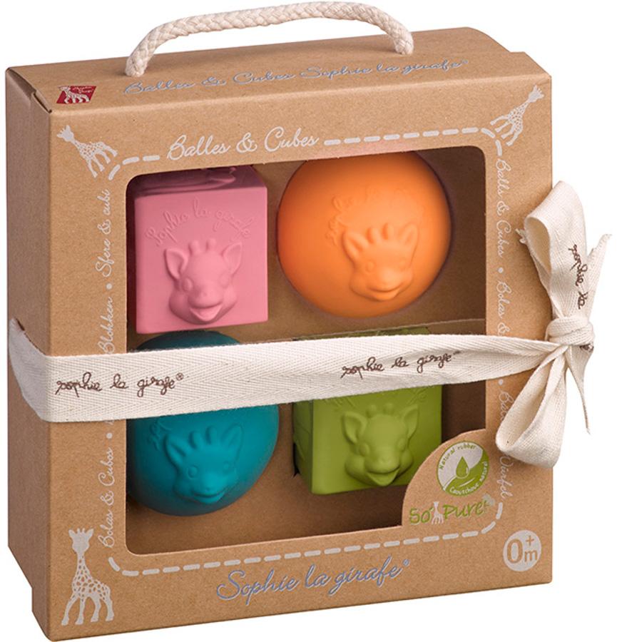 Sophie La Girafe Cubes & Balls Toy