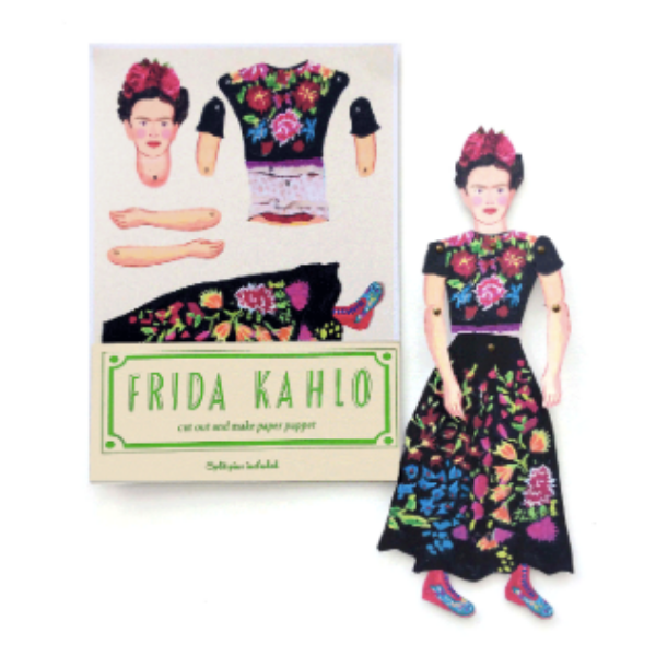 Winn Tapp Frida Kahlo Cut Out and Make Puppet, £7.50, Annual Store.