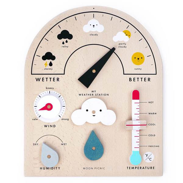 Moon Picnic My Weather Station, £48, Junior Edition.