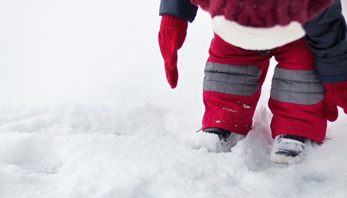 Skiing with Kids: The Snow Boots