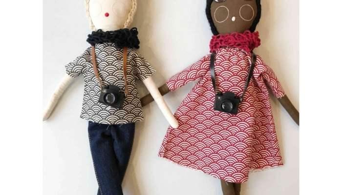 Covetable: Severina Kids photographer dolls