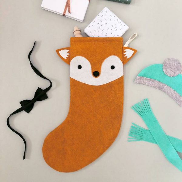Cool Christmas Stocking - Fox