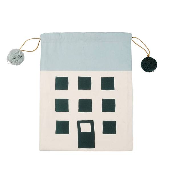 FABELAB evergreen Christmas house sack, £15.95, Berylune