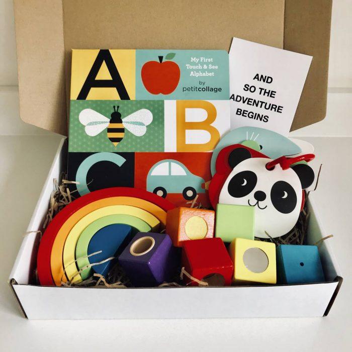Little Genius New Baby Gift Box, £45.95, Little Baby Company