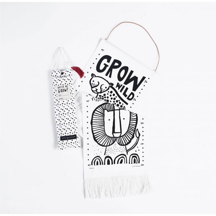 Organic Cotton Growth Chart, £34.95, Wee Gallery