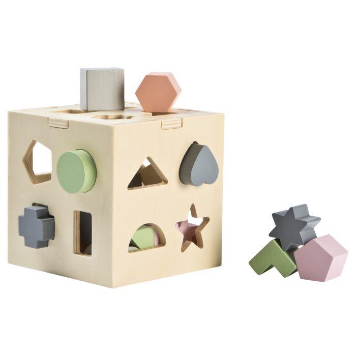 Stoy Multicoloured Wooden Shape Sorter, £14.30, Alex & Alexa