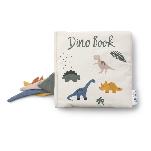 Liewood Dennis Dino Organic Book, £41, Smallable