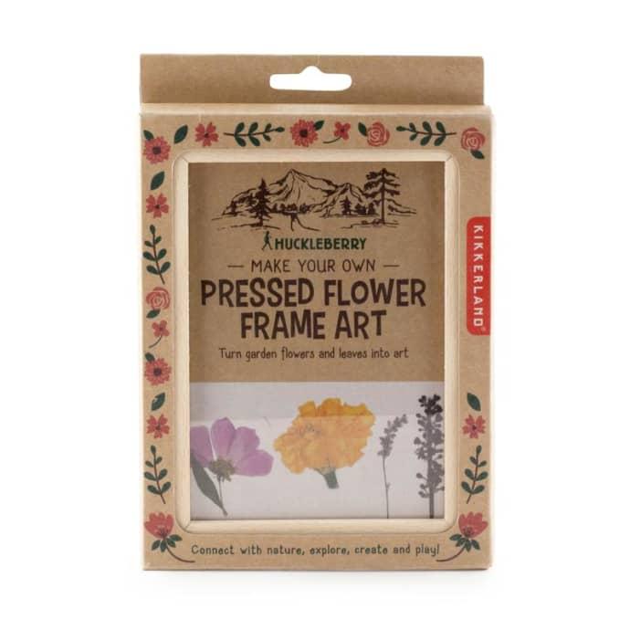 Make your own pressed flower art, £10.90, Kikkerland Design.