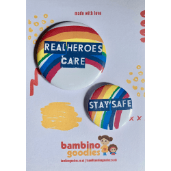 Real Heroes Care badge