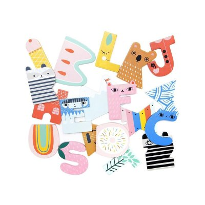 Suzy Ultman for Petit Monkey Wooden Letters