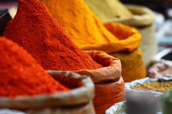 Delectable and organic spices of the Mediterranean.