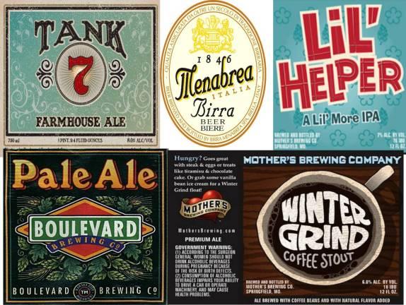 A Sampling of Bambinos Beers - Bambinos Cafe - Restaurants in Springfield MO