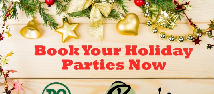 Book Your Holiday Party Now with Lettering - Restaurants in Springfield MO