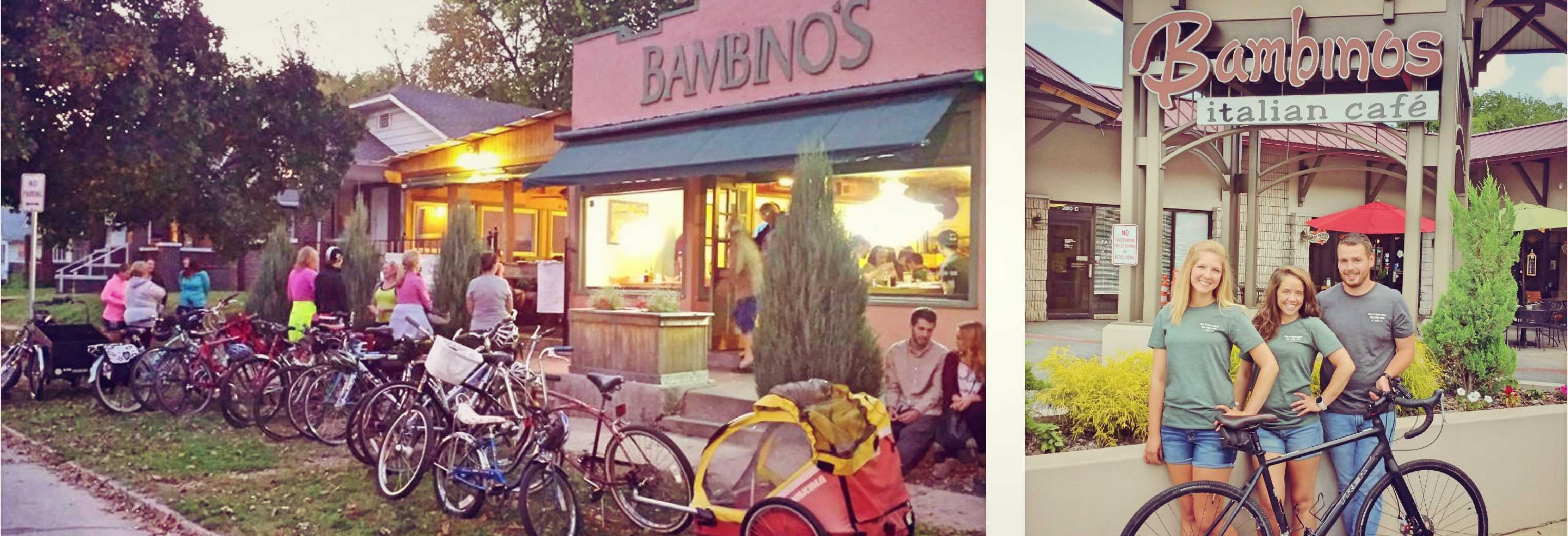 Bambinos Is Proud To Sponsor Bike, Walk and Wheel Week - Springfield Missouri Restaurants