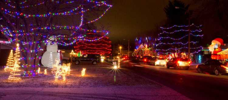 Springfield's Best Holiday Light Displays - Italian Restaurant Springfield MO