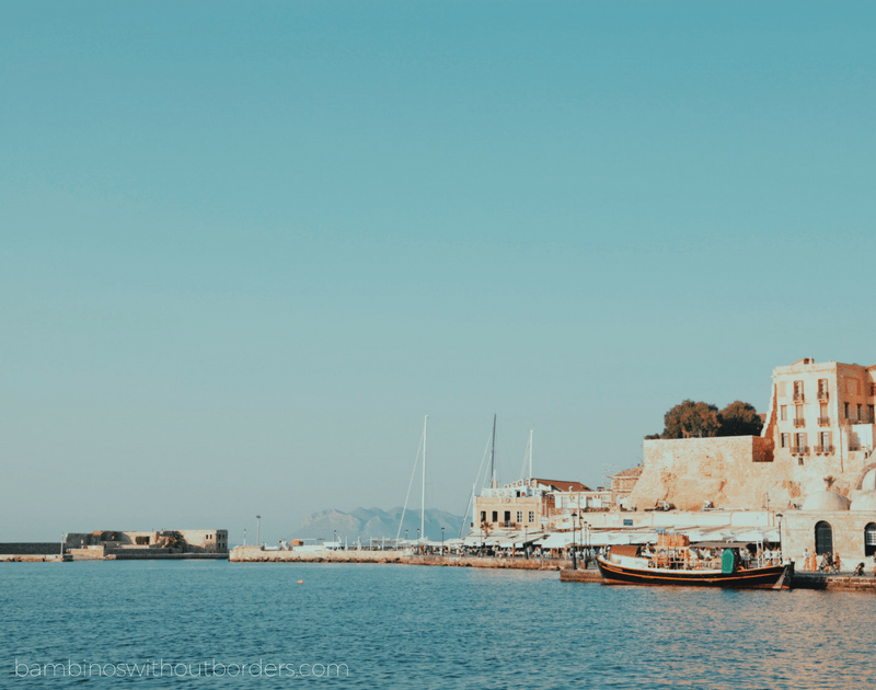 Things to do with kids in western crete, Chania