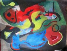 Abstract - acryl