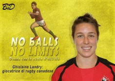Ghislaine Landry, giocatrice di rugby canadese.