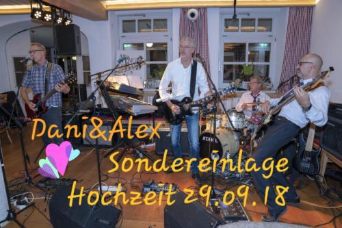 Hochzeit Dani&Alex Sondereinlage 29.09.18