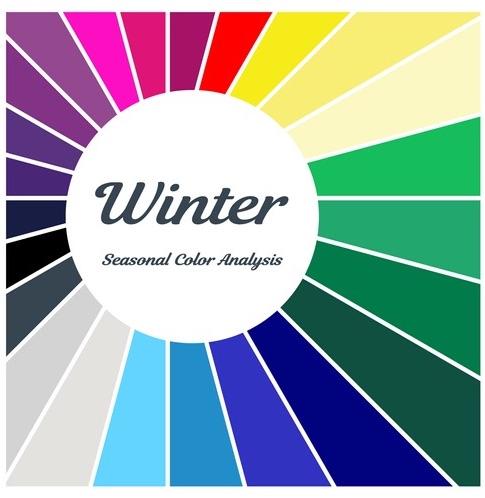 armocromia palette inverno