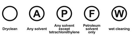 Simboli lavaggio - lavaggio a secco