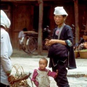 93 Fulü Frau mit Kind