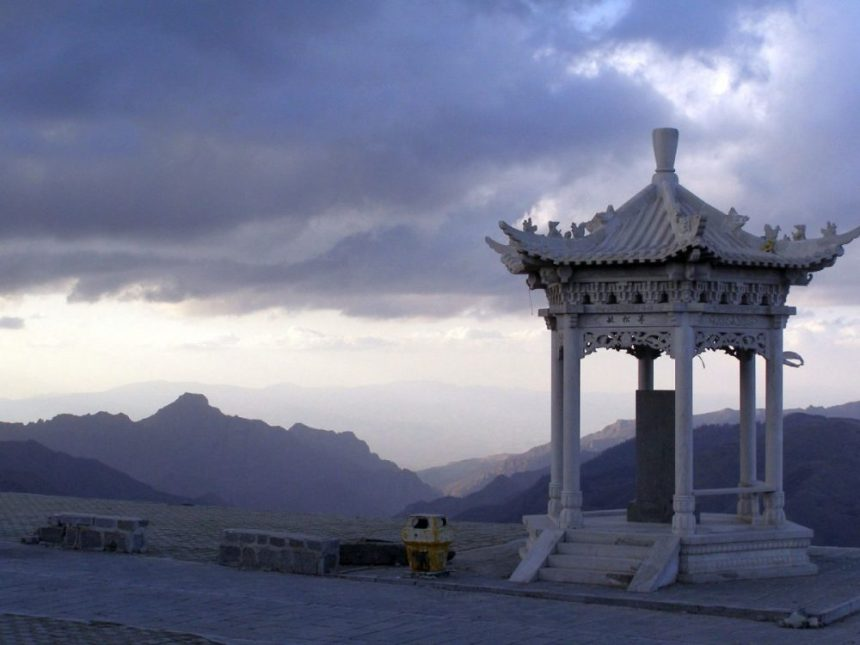 Pavillon am Wutai Shan
