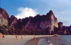 Thailand: Raleigh Beach in der Nähe von Krabi
