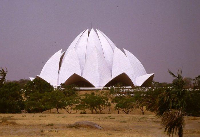 Der Tempel der Bahai 1992