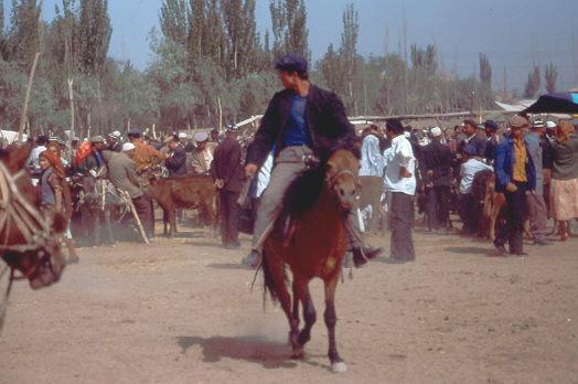 Sonntagsmarkt in Kashgar 1992