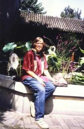 September 1992 im Tempel der Weißen Wolke