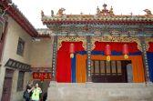Yangdi Tempel - Bühne