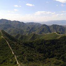 Blick über die Große Mauer bei Chenjiapu