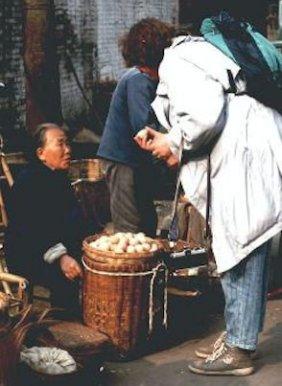 Chengdu Markt ich