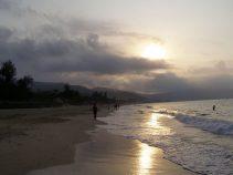 Morgens um 7:00 Uhr an der Yalong-Bucht - Hainan