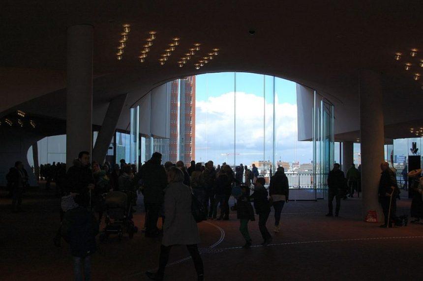 Elbphilharmonie Plaza von innen