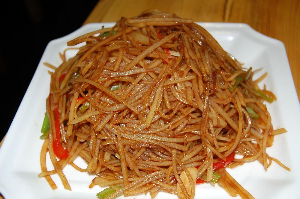 Kartoffelstreifen Chinesisch