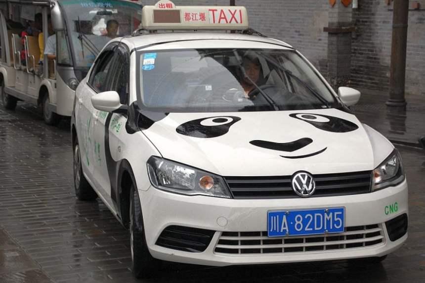 Panda-Taxi