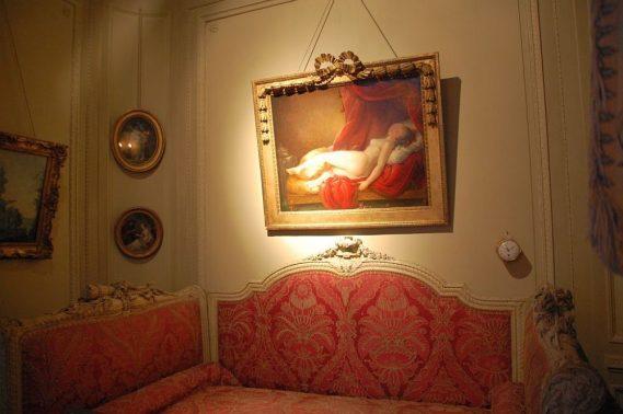 Musee Nissim de Camondo - Schlafzimmer
