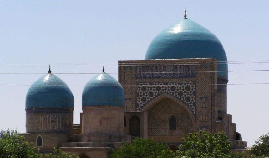 Shakri Sabz - Gök Gumbas Moschee