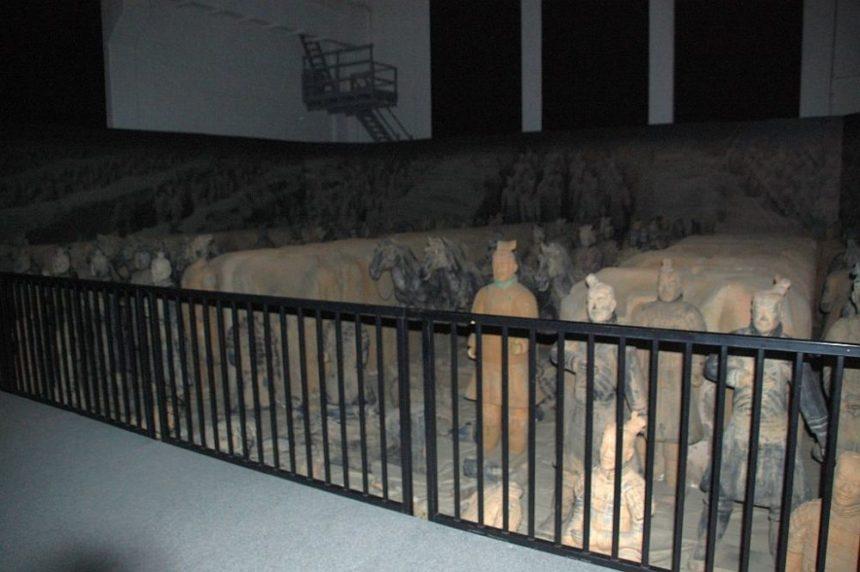 Terrakottaarmee in Dresden