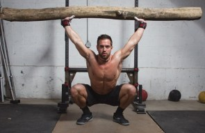 Overhead squat without a mirror