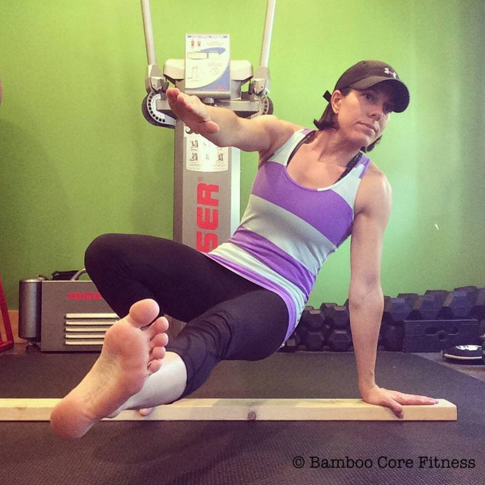 Balancing Tripod Transitions Bamboo Core Fitness