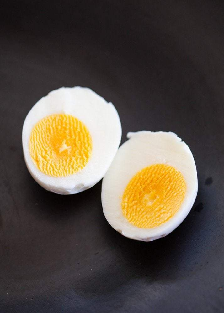 Avoid the gray-green funk that comes with overcooked eggs and cook perfect hard-boiled eggs instead. To do so, just follow the ten steps listed in this simple recipe. It's easy and very rewarding.