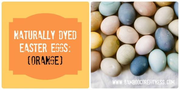 Naturally Dyed Easter Eggs - Orange Recipe