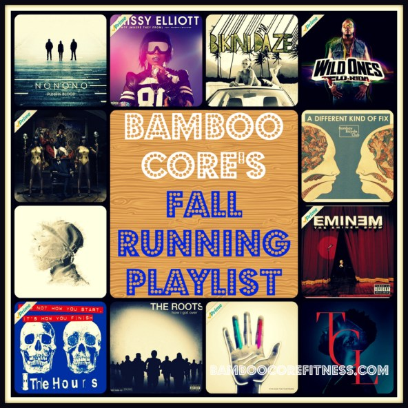 Bamboo Core's Fall Running Playlist