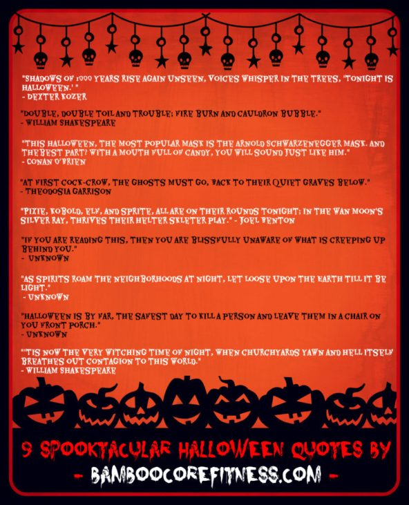 Nine spooktacular Halloween quotes