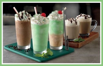 What's in a Chocolate Shamrock Shake?