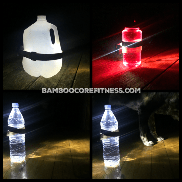 DIY Water Jug Lantern