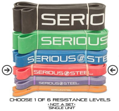 Serious Steel pull-up assistance, resistance, and mobility bands